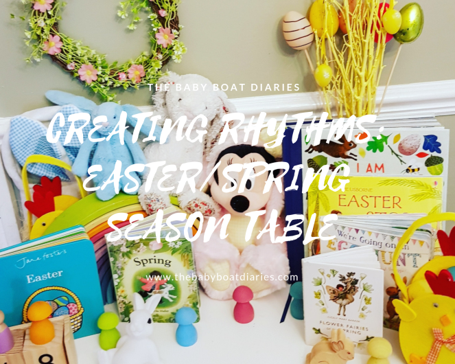 Creating Rhythms: Easter/Spring Season Table – The Baby Boat Diaries
